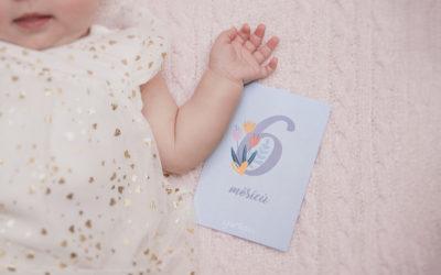 Milníkové kartičky – vzpomínka na každý měsíc vašeho miminka